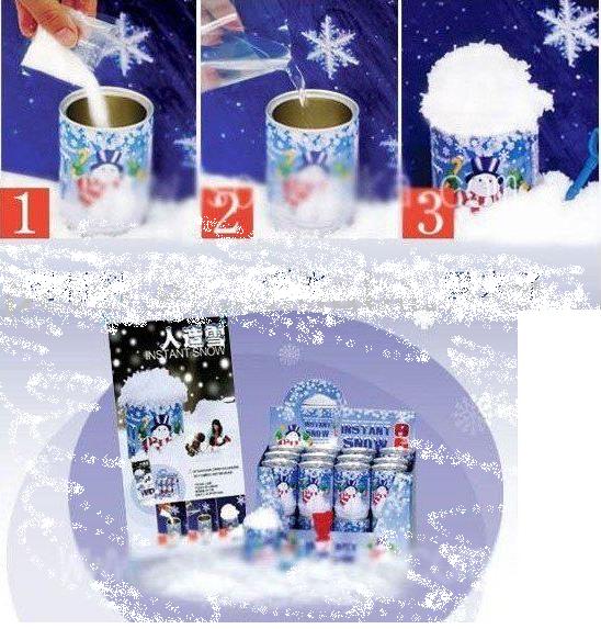 Vánoční uměly sníh