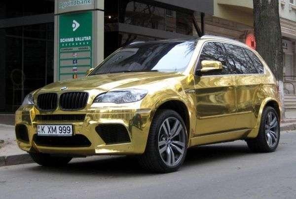 Zlatá Gold samolepka na auto , vel. 152cm x 30m.
