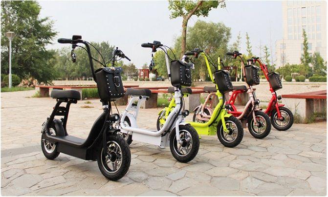 Elektrické koloběžky chooper citycoco N-7 pro děti 800w baterie 12Ah dojezd 35km