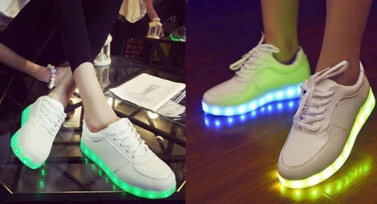 Svítící boty ČINA