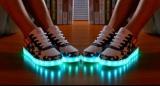 Svítící boty USA
