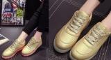 Svítící boty ZLATÉ