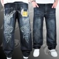 Raw Blue Pheonix Stich Denim Indigo Black/khaki