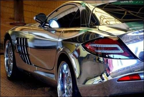 Chrom samolepka na auto , vel. 152cm x 30m.