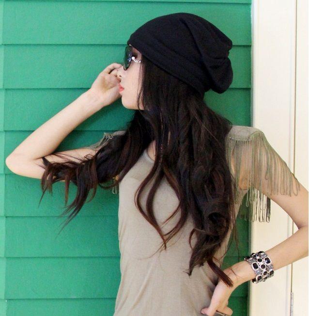 Zimní čepice pro ženy 3 v 1 - Černá ČINA