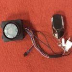 Bezpečnostní alarm na elektrickou koloběžku aktivovaný vibracemi, extra citlivý