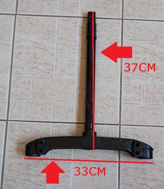 Držák na přední tlumič pro elektrickou koloběžkou
