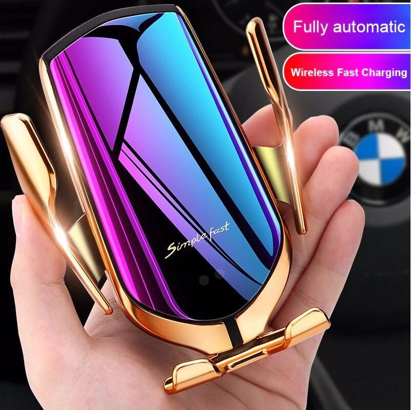 Kouzelný luxusní držák, nabíječka a vyhledávač auta na mobil do auta