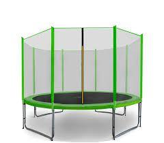 SPORT PRO Trampolína 430 cm Dark Green + ochranná síť