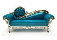 Klasická královská elegantní vysoce kvalitní odolná PU kožená pohovka