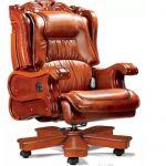 Luxusní kožené křeslo velkého bosa