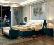 Luxusní postel krále a královny III
