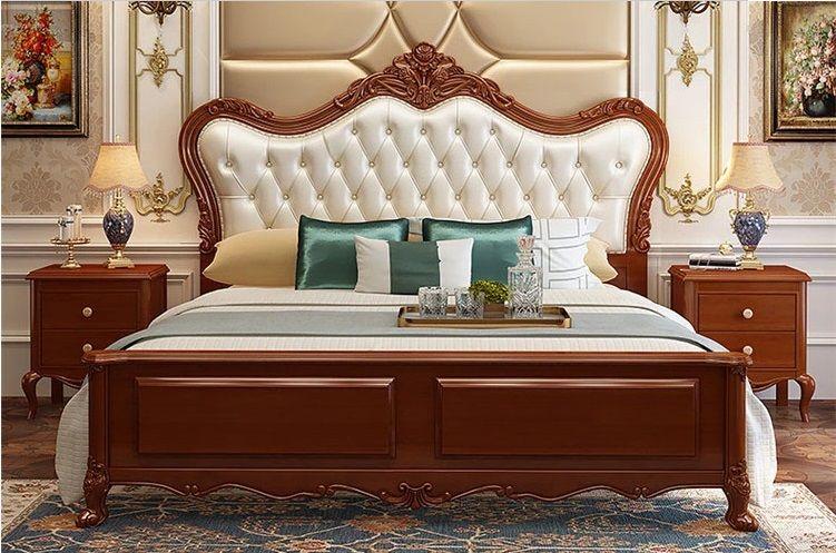 Luxusní postel krále a královny