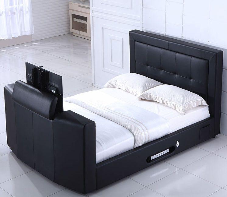 Luxusní postel pro TV maniaky a Gamery